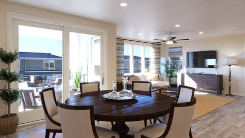 Greatroom-and-Dining-in-Waterline Plan 4A-at-Waterline-in-Richmond