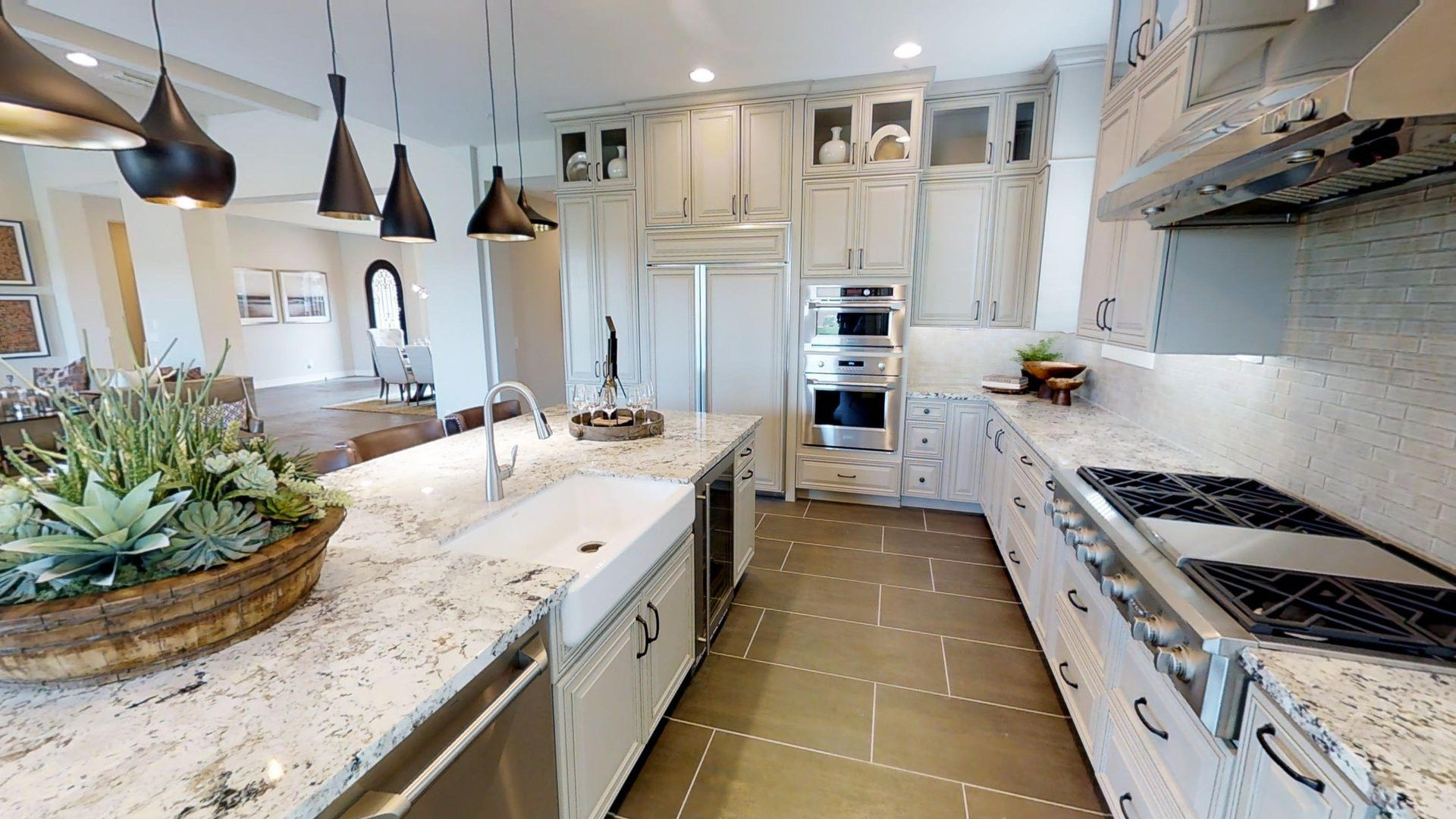 Kitchen-in-Residence 2-at-The Reserves at Cantilena-in-Peoria