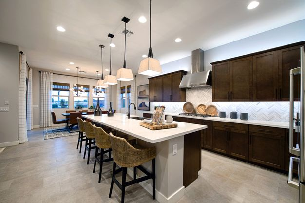 Plan 5012 Kitchen and Dining