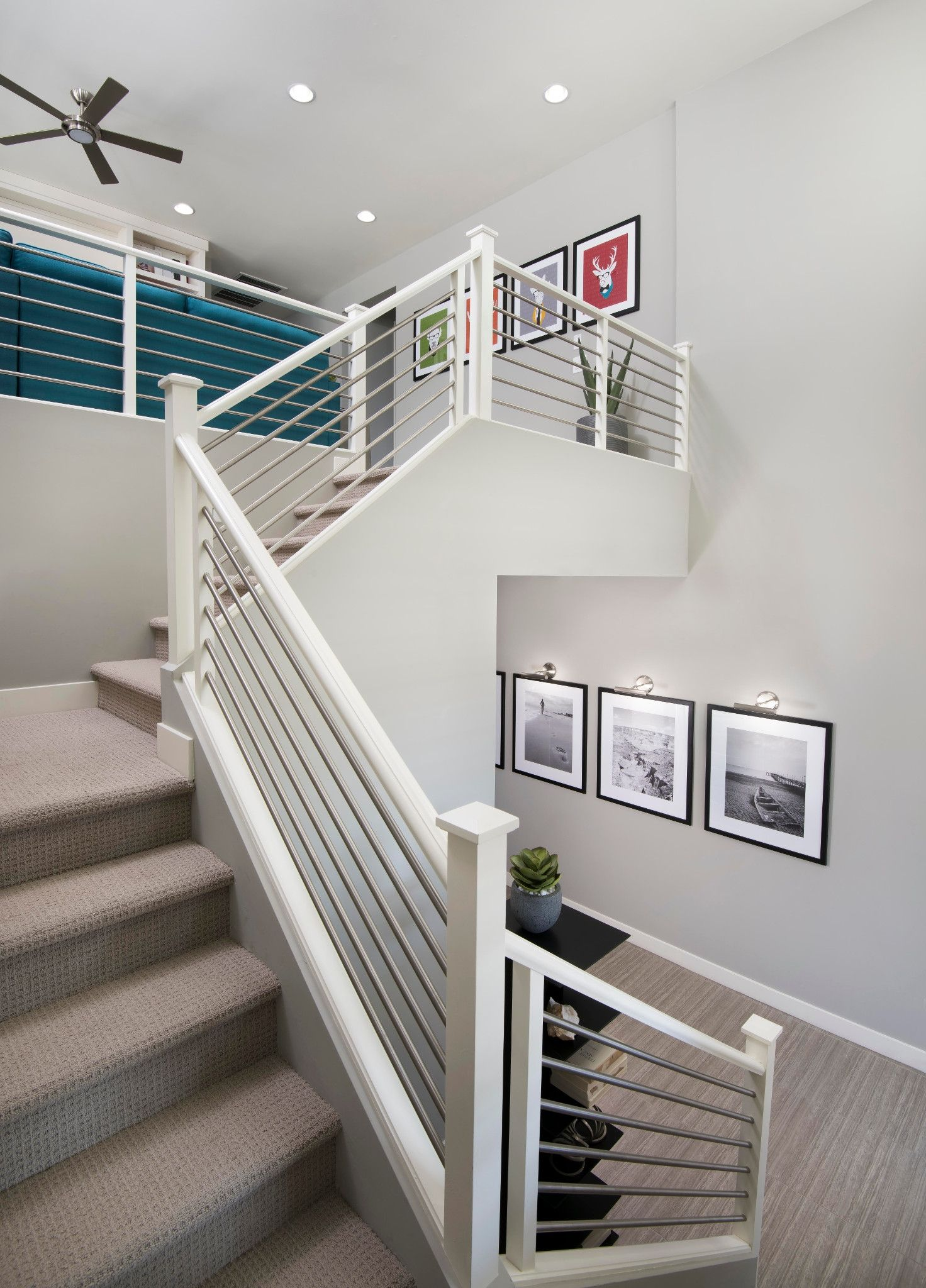 Stairway-in-3574 Passion-at-Ambition at Recker Pointe-in-Gilbert