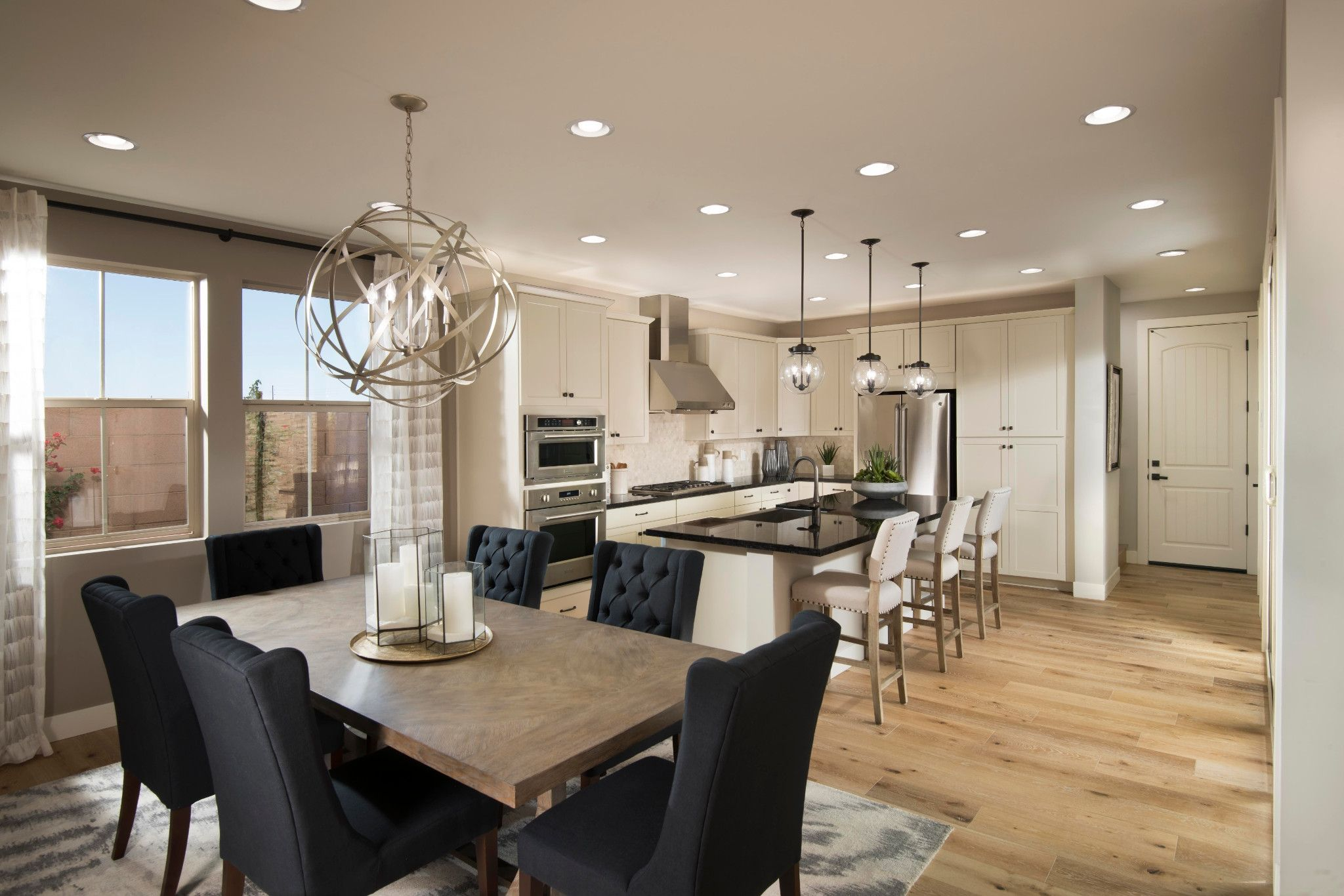 Kitchen-in-1012 Capella-at-Compass at Recker Pointe-in-Gilbert