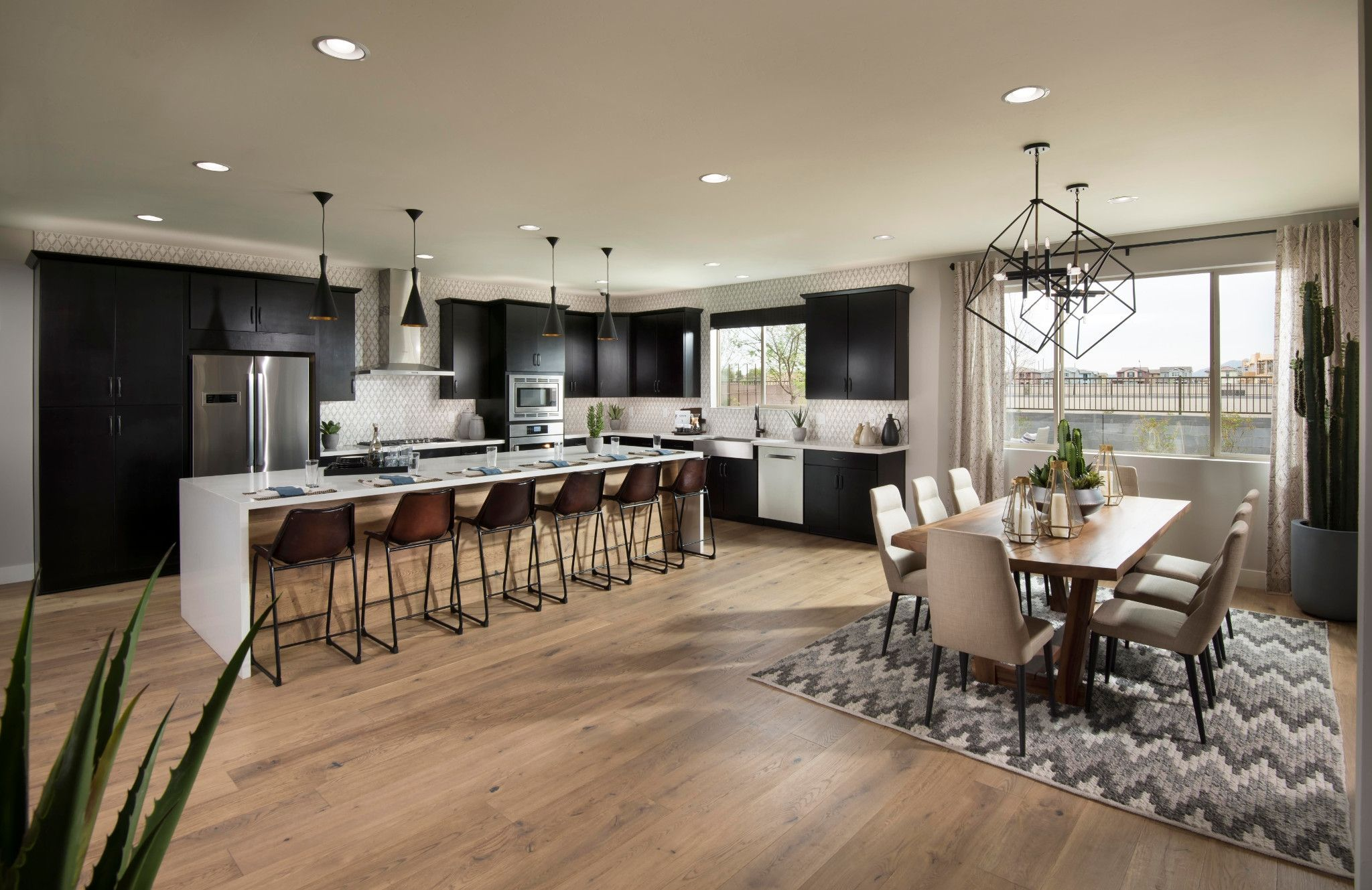 Kitchen-in-4584 Excite-at-Inspire at Recker Pointe-in-Gilbert