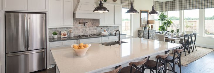 Plan 5118 Kitchen:Plan 5118 Sienna Model