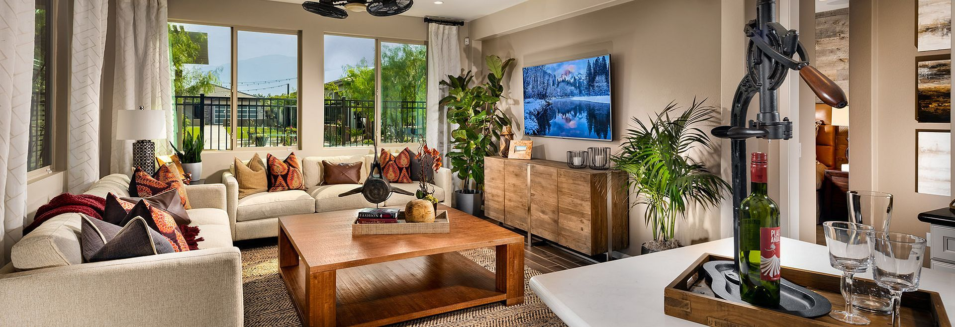 Living Area featured in the Muros By Shea Homes - Trilogy in Phoenix-Mesa, AZ
