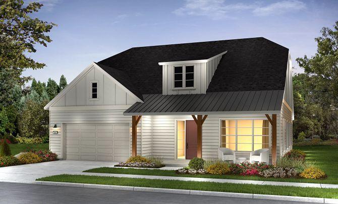 Engage Elevation B: Contemporary Ranch:Exterior B: Contemp Ranch; Color 7