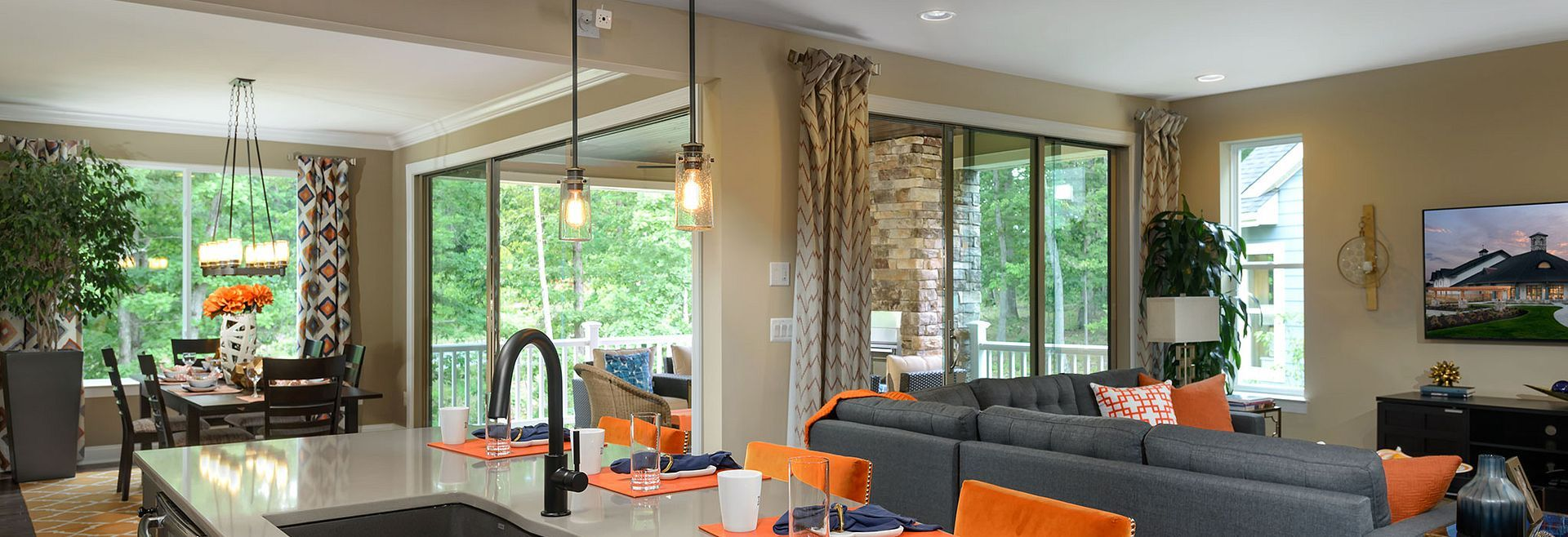 Living Area featured in the Nice By Shea Homes - Trilogy in Washington, VA