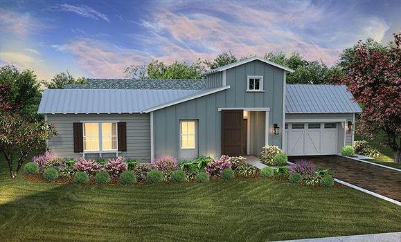 Dolcetto Plan Exterior A:Exterior A Contemporary Ranch