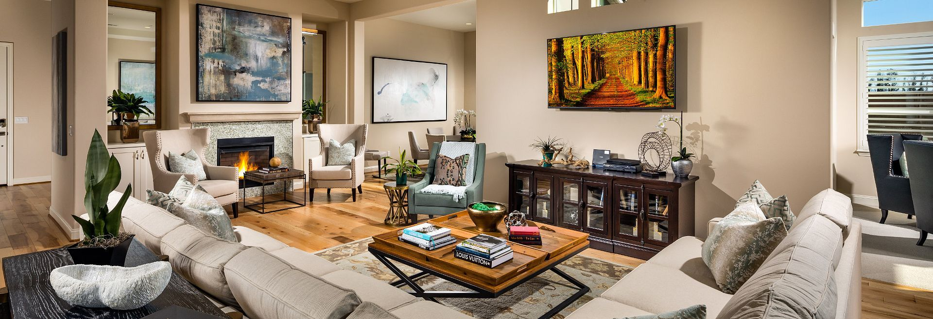 Living Area featured in the Marsanne By Shea Homes - Trilogy in San Luis Obispo, CA