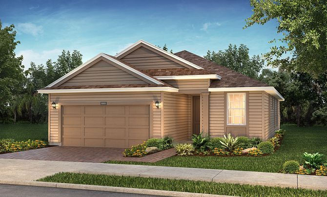 Trilogy at Ocala Preserve Rome Elevation:Exterior C: Southern Colonial