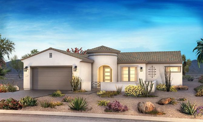 Exterior featured in the Brasada By Shea Homes - Trilogy in Phoenix-Mesa, AZ