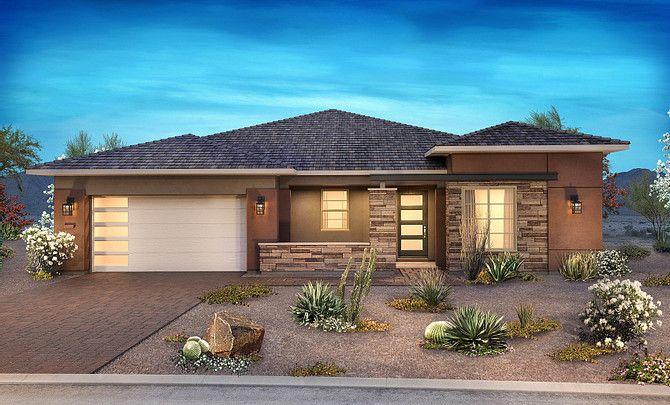 H Elevation:Desert Contemporary