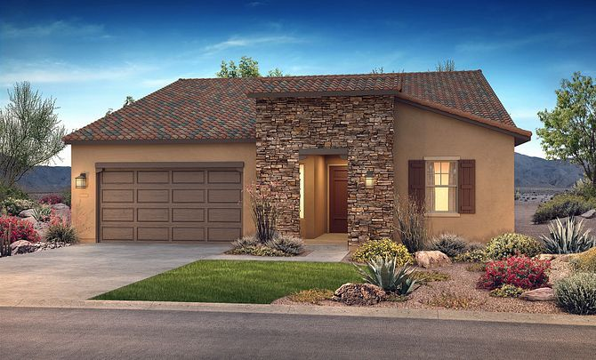 Exterior featured in the Concentric By Shea Homes - Trilogy in Phoenix-Mesa, AZ