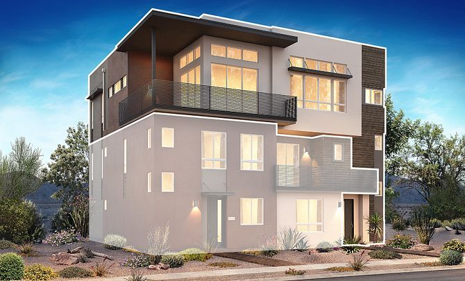 Trilogy in Summerlin Apex Exterior Rendering A:Apex Exterior Rendering A