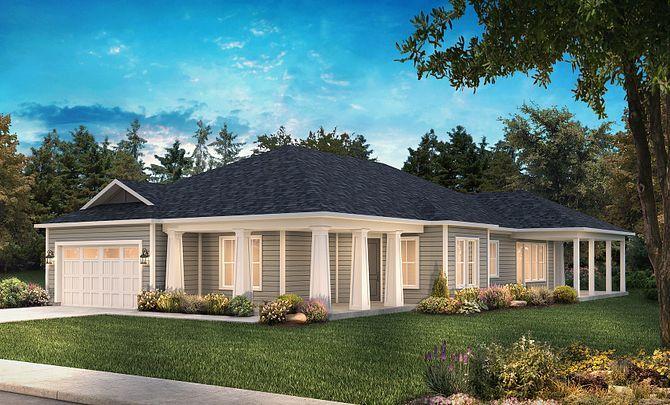 Captivate Exterior A: Modern Cottage:Exterior A: Modern Cottage
