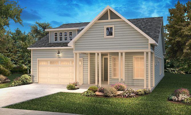 Trilogy Lake Norman Graham Elevation New Farmhouse:Ext C: New Farmhouse; Color Scheme 27