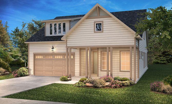 Graham + Loft Exterior C: New Farmhouse:Exterior C: New Farmhouse