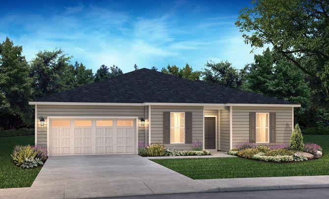 Proclaim Exterior A:Exterior A: Modern Cottage