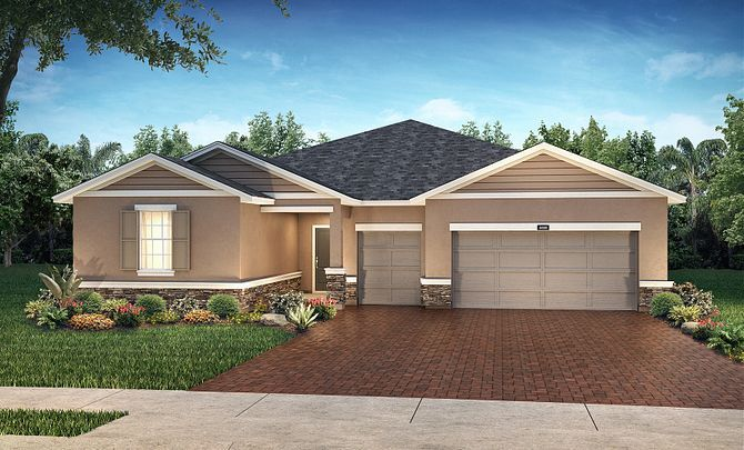 Trilogy Orlando Elevation Liberty Plan:Exterior