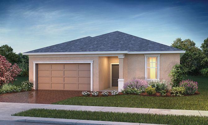 Trilogy Orlando Connect Plan Exterior Elevation:Exterior