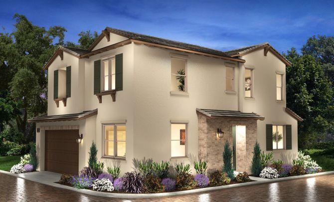 Plan 3 Exterior C: Hacienda:Exterior C: Hacienda