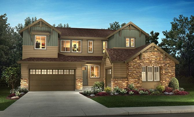 Exterior featured in the 5204  Torrey Pine By Shea Homes in Denver, CO