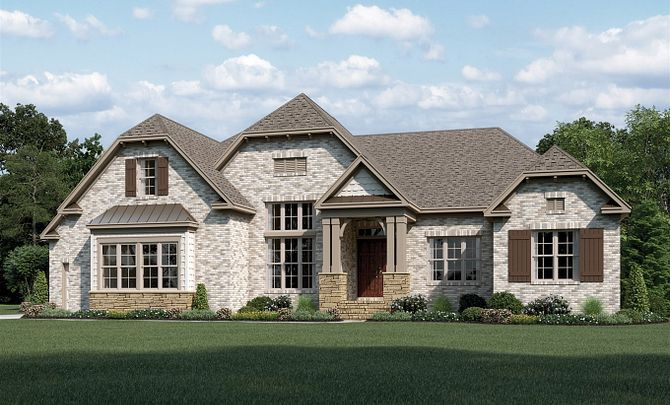 Sullivan Plan at Oldenburg in Waxhaw, NC by Shea Homes