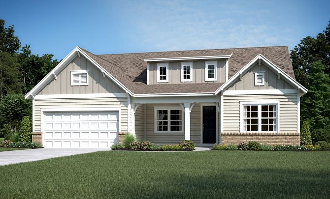 Everett Exterior A (will include Side Entry Garage