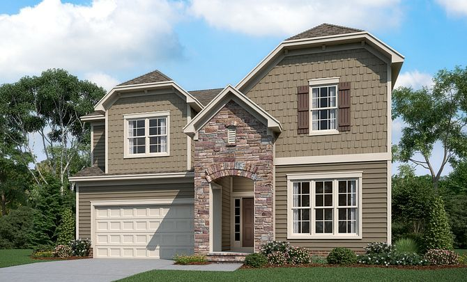 Weston Exterior C (will include side entry garage)
