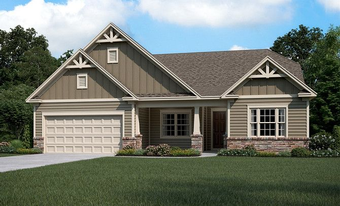 Exterior featured in the Everett By Shea Homes in Charlotte, NC