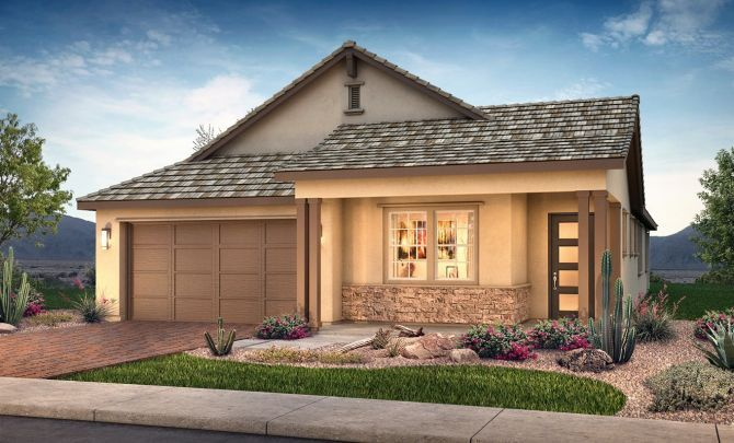 Plan 4012 Exterior C: Hill Country:Exterior C: Hill Country