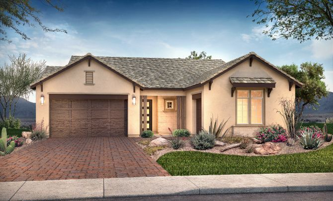 Plan 5013 Exterior C: Hill Country:Exterior C: Hill Country