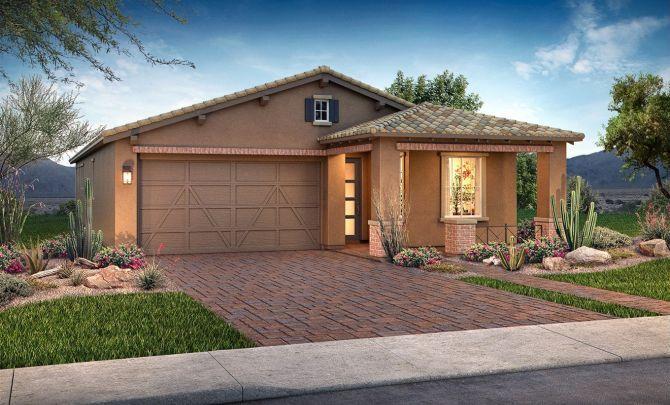 Dream Exterior C:Exterior C: Adobe Ranch