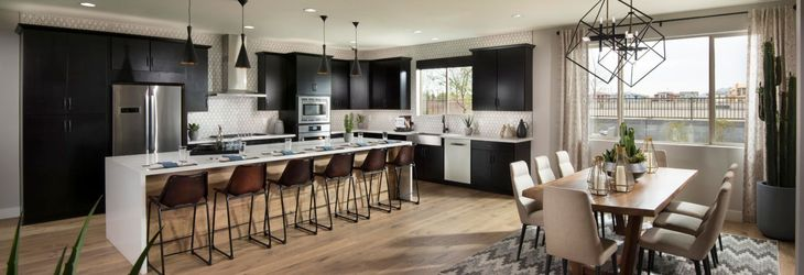 Plan 4584 Excite Kitchen:Excite Plan Kitchen