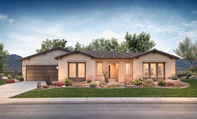 Residence 3 Exterior B: Adobe Ranch:Exterior B: Adobe Ranch