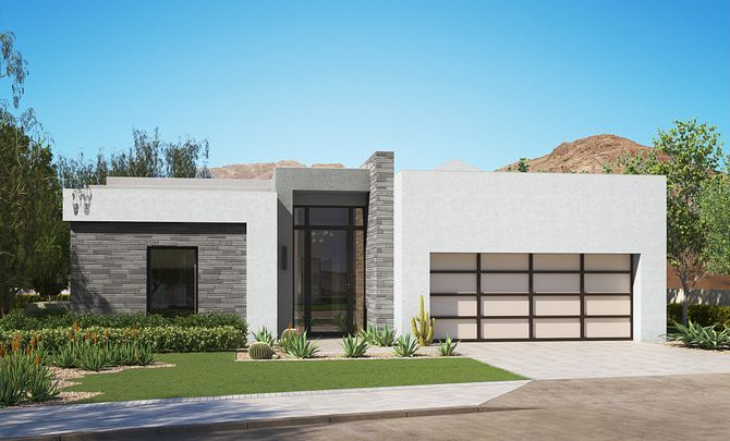 Exterior featured in the Residence 1 By Shea Homes in Phoenix-Mesa, AZ