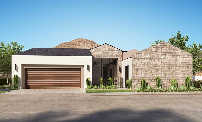 Exterior featured in the Residence 3 By Shea Homes in Phoenix-Mesa, AZ