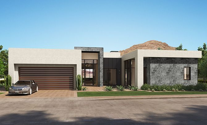 Exterior featured in the Residence 5 By Shea Homes in Phoenix-Mesa, AZ