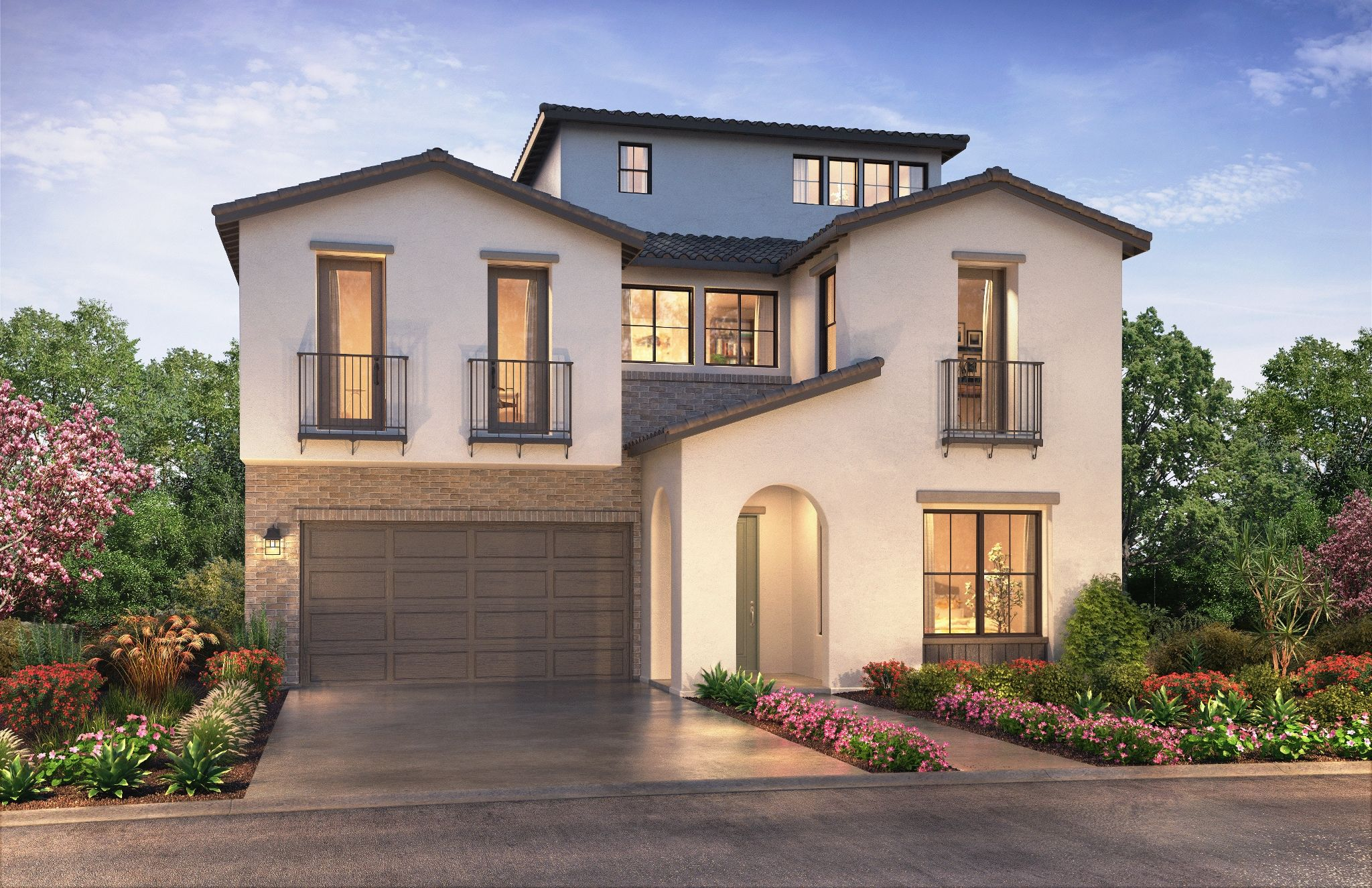 Exterior featured in the Plan 1X By Shea Homes in Orange County, CA