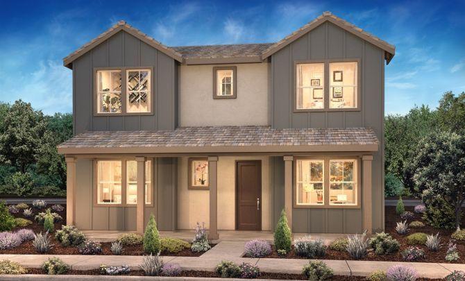 Prescott Plan 2 Elevation E Mountain House