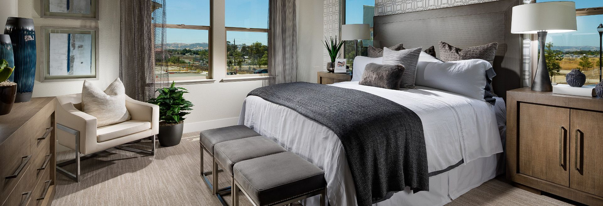 Bedroom featured in the Plan 3 By Shea Homes in Oakland-Alameda, CA