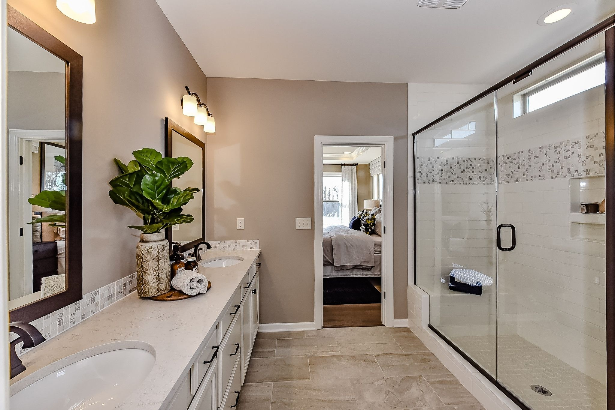Bathroom featured in the Everett By Shea Homes in Charlotte, NC