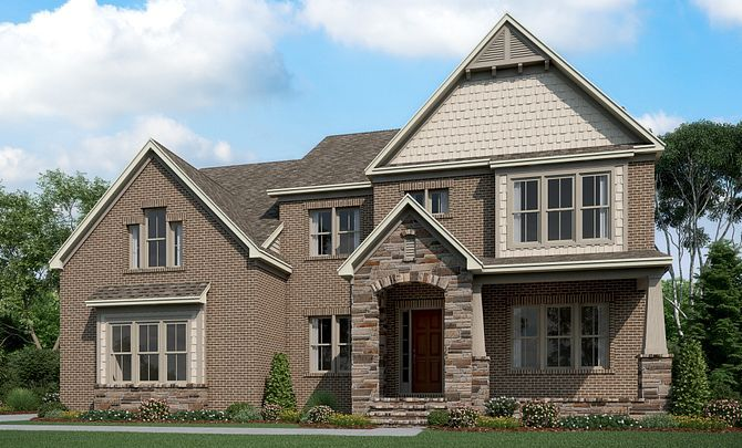 Exterior featured in the Magnolia By Shea Homes in Charlotte, SC