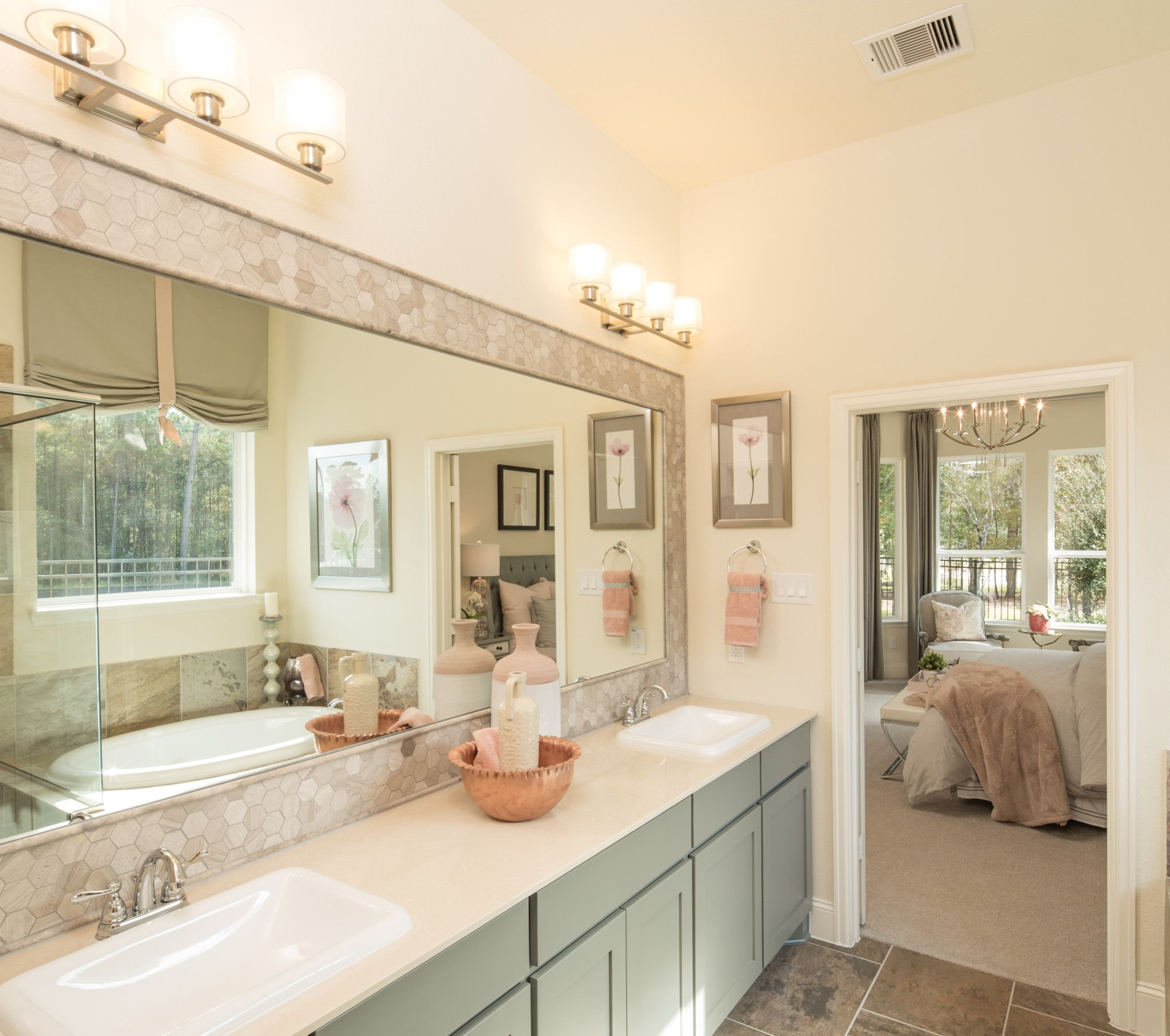 Bathroom featured in the Plan 4117 By Shea Homes in Houston, TX