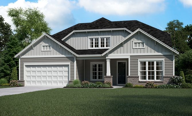 Everett Exterior D (will include Side Entry Garage