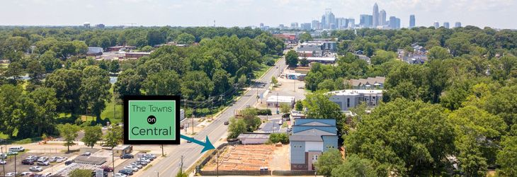 Towns on Central location:Minutes from Uptown Charlotte