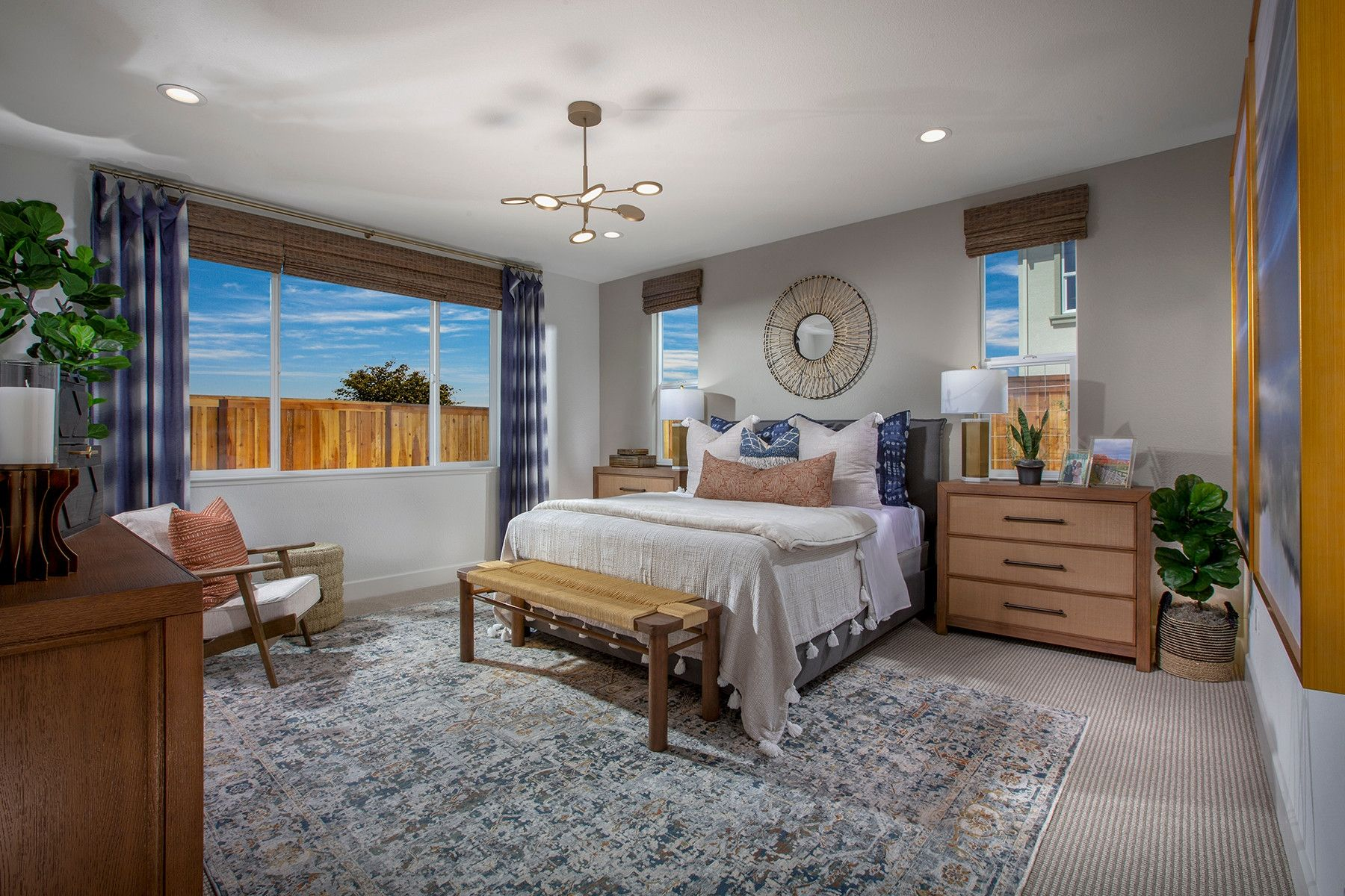 Bedroom featured in the Plan 1 By Shea Homes in Stockton-Lodi, CA