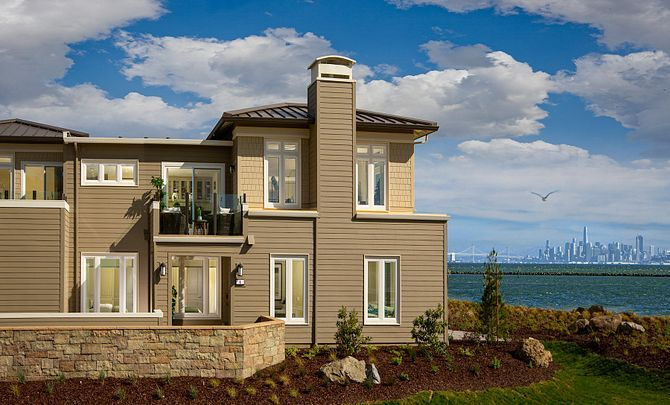 Exterior featured in the Plan 2B By Shea Homes in Oakland-Alameda, CA