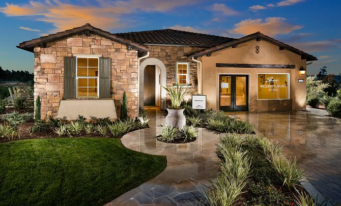 Exterior featured in the Monterey By Shea Homes - Trilogy in San Luis Obispo, CA