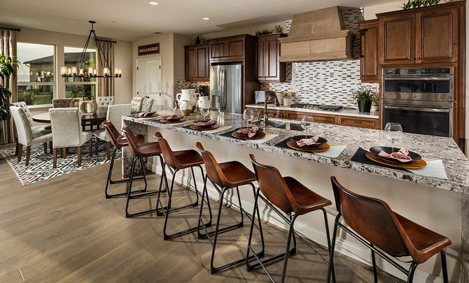 Kitchen featured in the Monterey By Shea Homes - Trilogy in San Luis Obispo, CA