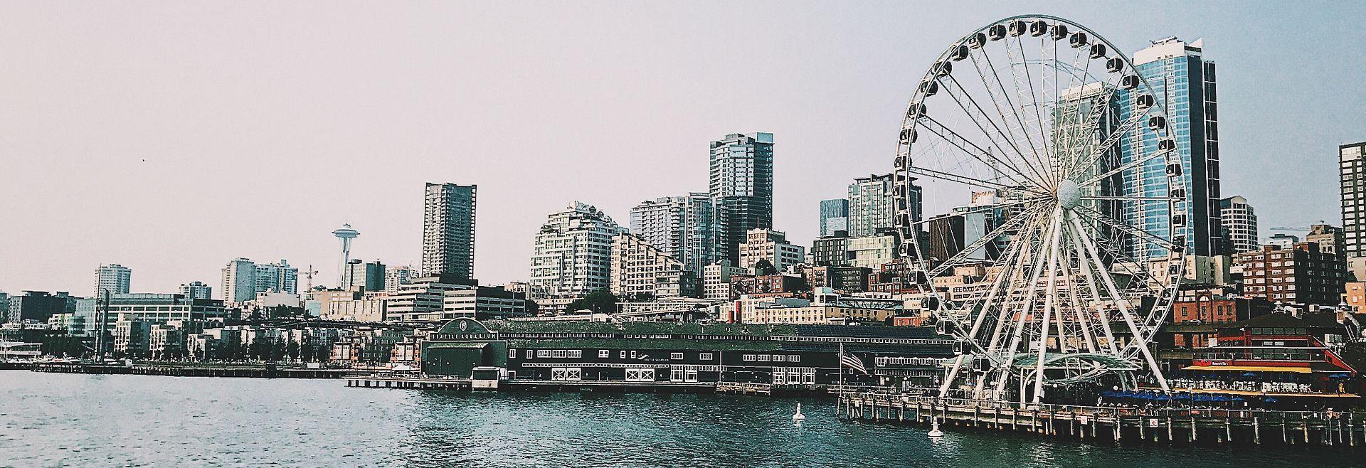 Seattle, WA area Shea Homes Communities:Seattle Skyline: by Felipe Galvan